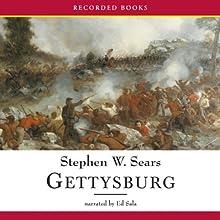 Gettysburg (       UNABRIDGED) by Stephen Sears Narrated by Ed Sala