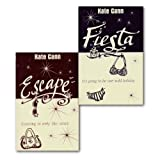Kate Cann Kate Cann Holiday Collection 2 Books Set, Fiesta & Escape