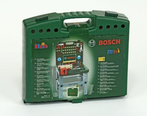 Theo-Klein-8681-Bosch-Werkbank-Koffer-Spielzeug