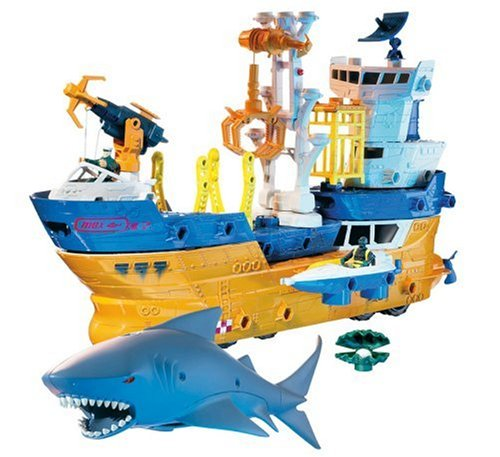 Mattel Matchbox Mega Rig Shark Adventure