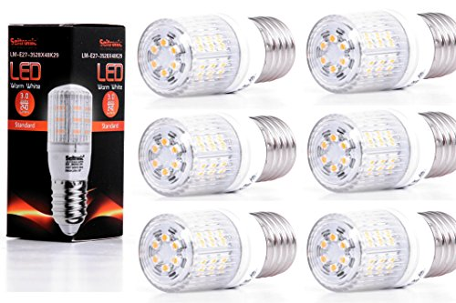 Seitronic 6er Set E27 LED Lampen Warm wei� 2900K