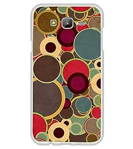 Multicolour Circular Pattern 2D Hard Polycarbonate Designer Back Case Cover for Samsung Galaxy E5 (2015) :: Samsung Galaxy E5 Duos :: Samsung Galaxy E5 E500F E500H E500HQ E500M E500F/DS E500H/DS E500M/DS