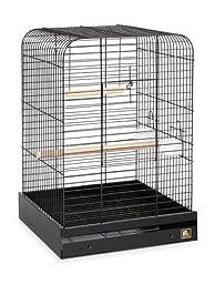 Prevue Pet Products 125BL Parrot Cage, Black