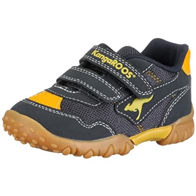 KangaROOS Ken-Junior 00058, Baskets mode garçon - Bleu-TR-SW38, 21 EU