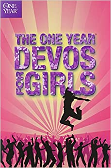 The One Year Book Of Devotions For Girls Children S Bible border=