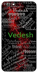 Vedesh (Lord Of Vedas) Name & Sign Printed All over customize & Personalized!! Protective back cover for your Smart Phone : Apple iPhone 7