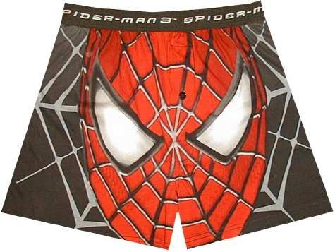 Buy Spider-man Web Face boxer shorts for men