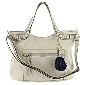 Jessica Simpson Miley Tote Bag Cloud-Grey