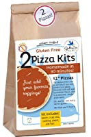 "Gluten Free Pizza Kit (Two 12"" pizzas) by GalloLea"