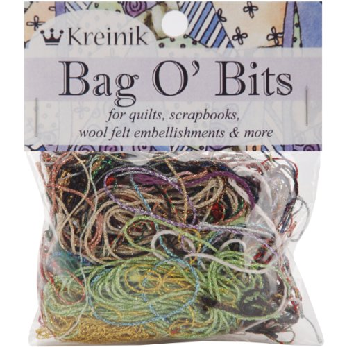 Kreinik Bag O' Bits Metallic Thread, 11Gm