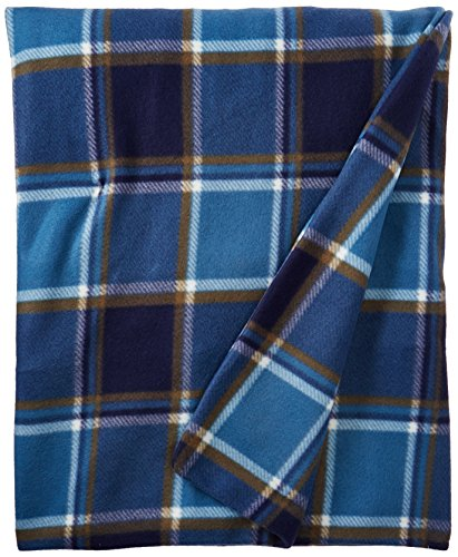 Biddeford Blankets 4442-907484-479 Heated Throw, 50 by 62-Inch, Blue Plaid (Biddeford Heated Throws compare prices)