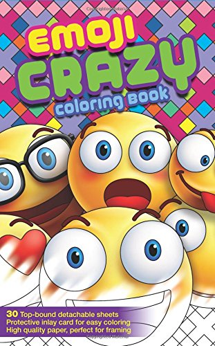 Emoji Crazy Fun Adult Coloring Book and Teens Coloring Book 30 Emoji Themed Pages Waiting to be Colored (Travel Size) (Coloring Book Mini) (Six Feet Under Tshirt compare prices)