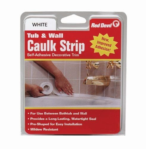red-devil-0151-wide-white-tub-wall-caulk-strip-1-5-8-inch-by-11-foot
