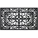 "MILLIARD 'Lilly' Decorative Rubber 18""x30"" Doormat"