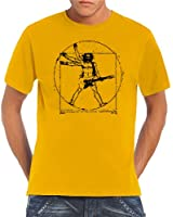 Touchlines Herren T-Shirt Da Vinci Rock Guitar