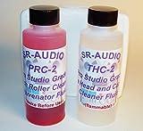 SR-Audio THPR-2 (1) 2 oz SR-Audio Audio/Video Tape Head Capstan Cleaner Fluid + (1) 2 oz SR-Audio Audio Video Pinch Roller Cleaner Rejuvenator Fluid