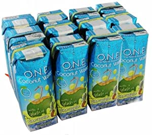 O.N.E, Coconut Water with a Splash of Pineapple, 8.5 fl oz (250 ml)