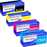 Set of Toner Cartridge for OKI C5800 C5550MFP C5900 **by Printer Ink Cartridges**