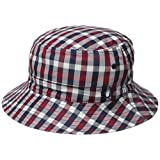Fred Perry Men's Gingham Reversible Fishermans Hat, Multi/Black, One Size