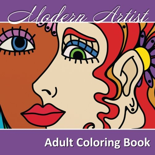 Modern Artist Adult Coloring Book (Sacred Mandala Designs and Patterns Coloring Books for Adults) (Volume 17)