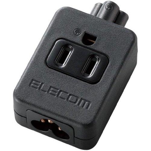 ELECOM ACアダプタ用タップ 3pin 1個口 T-ACTAP31