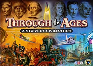Through the Ages 2nd Edition By Eagle Games