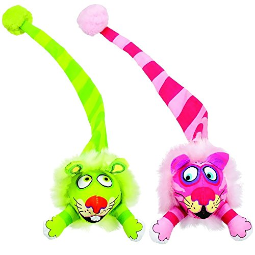 Good Bamboo Pet CAM650074 Fat Cat Kitty Hoots Tail Chaser Catnip Toy, Multicolor