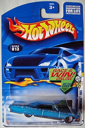 HOT WHEELS PONTIAC BONNEVILLE 1965 COLLECTOR NO. 013