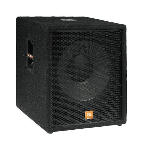 "New Jbl | 18-Inch High-Power 500W Powered Subwoofer Cabinet, Jrx118Sp With Dual Inputs With Balanced Xlr And 1/4"" Connectors"