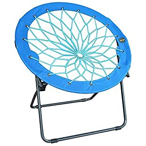 Amazon com round bungee chair folding comfortable lightweight