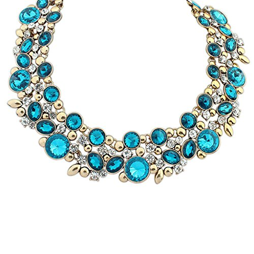 aooaz-womens-bohemian-statement-necklace-vintage-love-long-choker-necklace-multi-cz-crystal-chain-bl