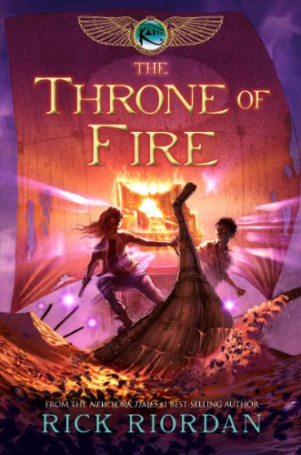 Kids on Fire: Rick Riordan's The Throne of Fire Reviewed By A 13 Year Old Student