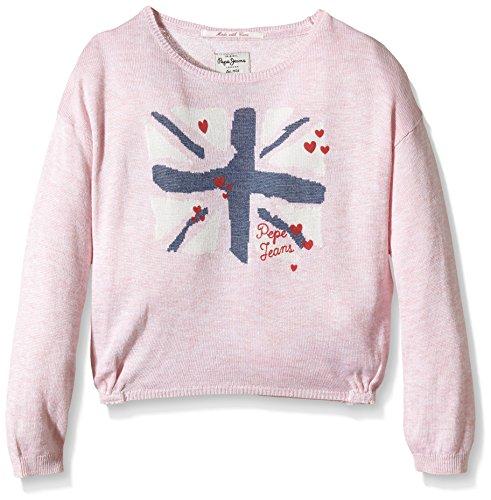 Pepe Jeans Amelia-Felpa Bambina    Rose (Soft Pink 305) 24 mesi