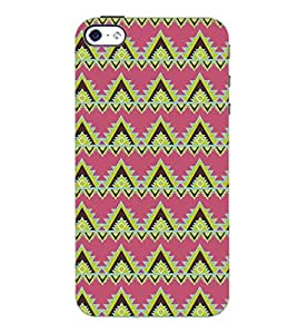 PrintDhaba Pattern D-5127 Back Case Cover for APPLE IPHONE 5S (Multi-Coloured)