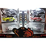 Hot Wheels Red Line Club Release Limited Edition Hall Of Fame The Snake Vs The Mongoose Tom Mc Ewen Don Prudhomme...
