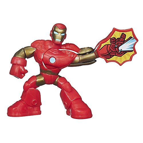 Playskool Heroes Marvel Super Hero Adventures Iron Man Figure - 1