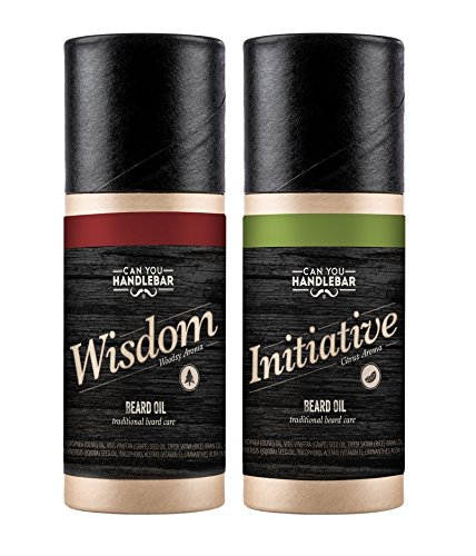 Wisdom & Initiative Beard Oil with Woodsy & Citrus Scents