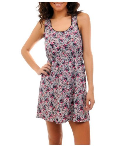 G2 Chic Women'S Printed Sleeveless Summer Dress(Drs-Cas,Pnk-L)