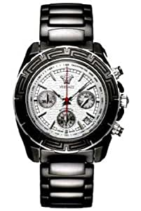 Versace 11CC9D001 SC09 Gents Chronograph Black Ceramic Bracelet Watch