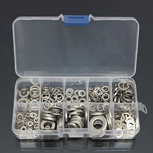 mohoo-260pcs-stainless-steel-washer-spring-washer-pad-assortment-m25-m10-box
