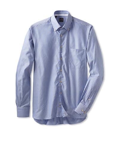 Ike Behar Men's Lenny Sportshirt  [Light Blue]
