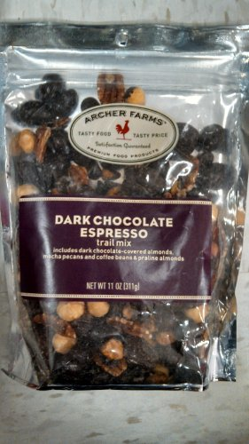 Archer Farms Dark Chocolate Espresso Trail Mix 11oz by Archer Farms
