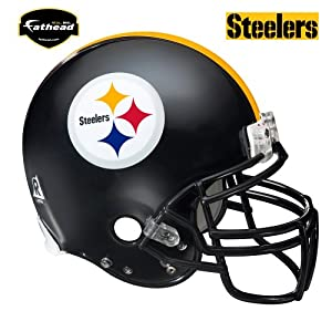 Pittsburgh Steelers Helmet Wall Decal by Fathead