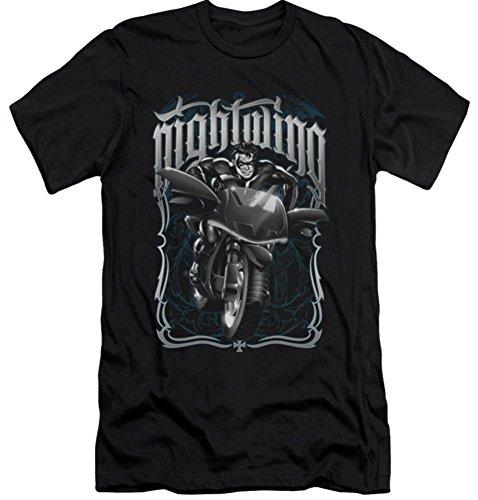 Batman Nightwing: Biker Slim Fit T-Shirt