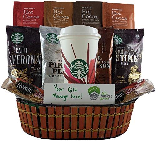Starbucks Holiday Gift Basket