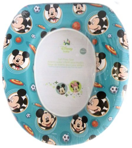 Disney Baby Mickey Mouse Soft Potty Seat - Blue - Made in USA - 1
