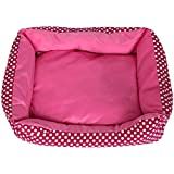 Alcoa Prime S/M/L Size Pet Dog Cat Bed House Kennel Doggy Warm Cushion Basket Winter Puppy Kitten Warm Keeping Supply