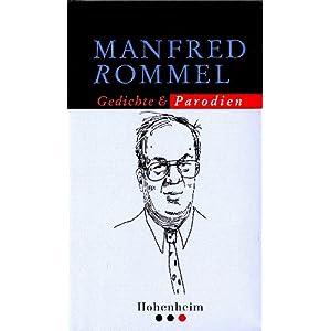 eBook Cover für  Manfred Rommels gesammelte Parodien