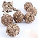 Lalang 2 Stück Natural Pet Hund Katze Katzenminze Ball...