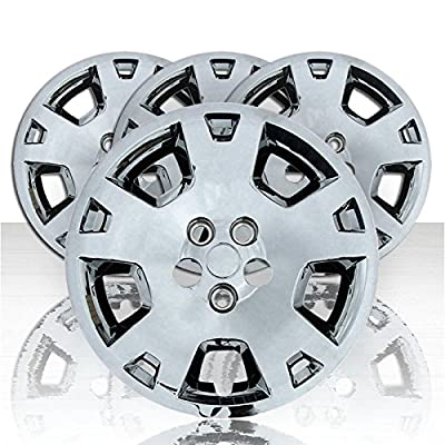 "Set of Four 17"" Chrome ABS Wheel Covers for 2006-2007 Dodge Charger (Bolt-on)"